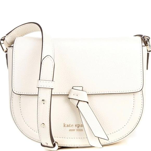 Kate Spade Knott Medium Saddle Crossbody Bag